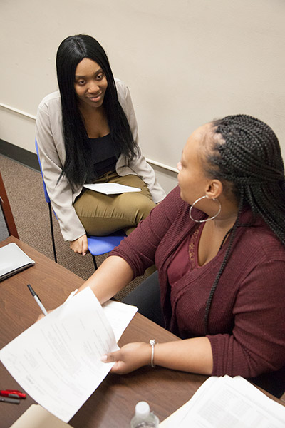 Hopeful job candidates interview with Henry Ford Health