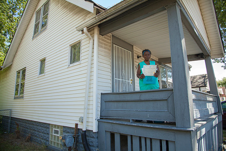 """From housing voucher to homeownership: Anita's """"miracle"""" 